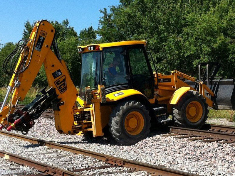 bucket clamp sterling rail railroad equipment for sale