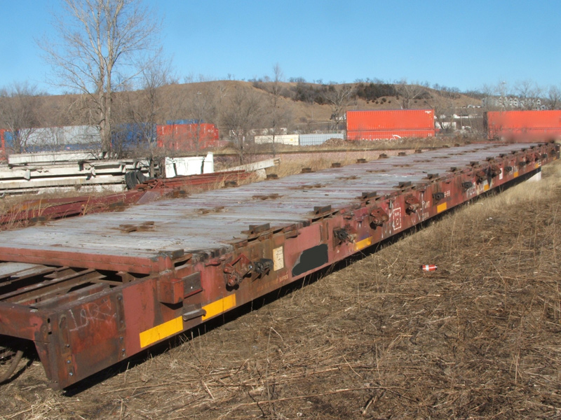 Used Railroad Flat Cars For Sale